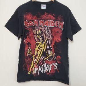 Iron Maiden Killers Graphic T Shirt, sz M